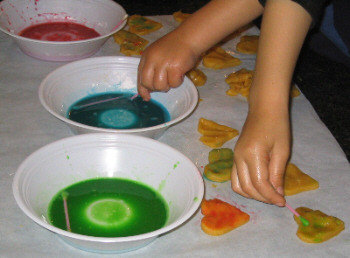 how to make edible paint for cookies